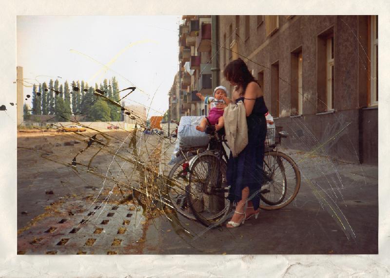 Berlin 1990 - So viel Anfang 5, Giclée-Druck 2015, 100 x 140